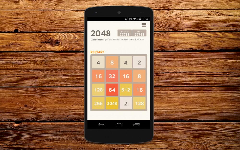 Скачать 2048 puzzle на Андроид бесплатно
