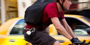 Велокурьеры Нью-Йорка показывают, что на велосипеде ездить можно по любому городу в любую погоду!