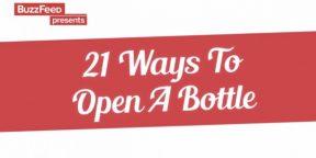 21 способ открыть бутылку пива