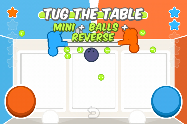 игра для iPhone Tug the table