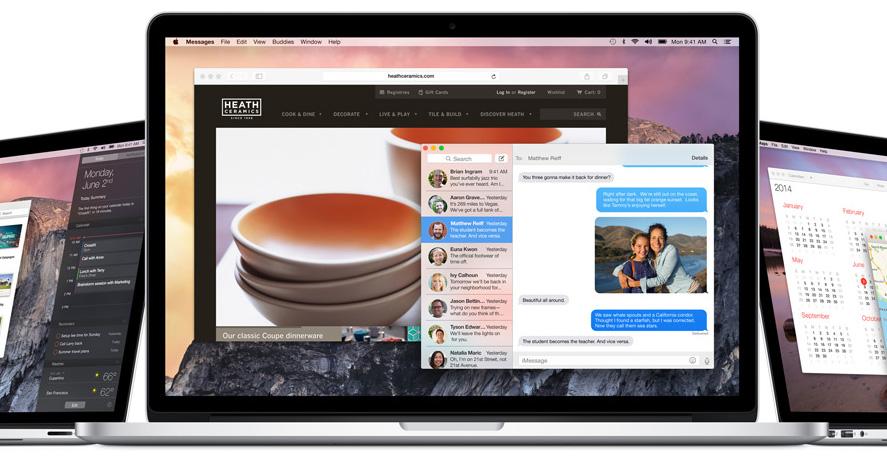 Сообщения в OS X 10.10 обзавелись функцией демонстрации экрана собеседнику