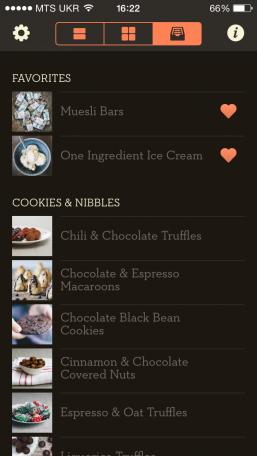 Healthy Desserts - приложение для сладкоежек, которые следят за своим питанием