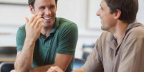 Как стать хорошим собеседником? Правило треугольника