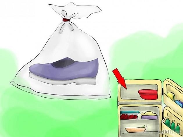 как избавить обувь от запаха: заморозить
