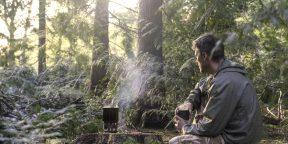 Как сделать лёгкую и эффективную дровяную печку для походов