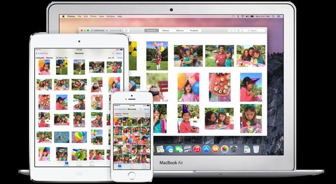 Apple прекращает поддержку Aperture в пользу нового приложения Photos на OS X