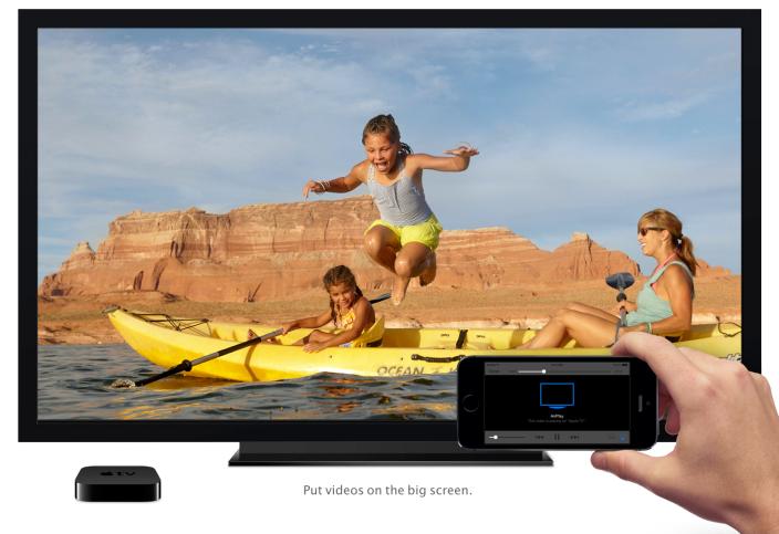 Apple TV получит более тесную интеграцию с OS X и iOS