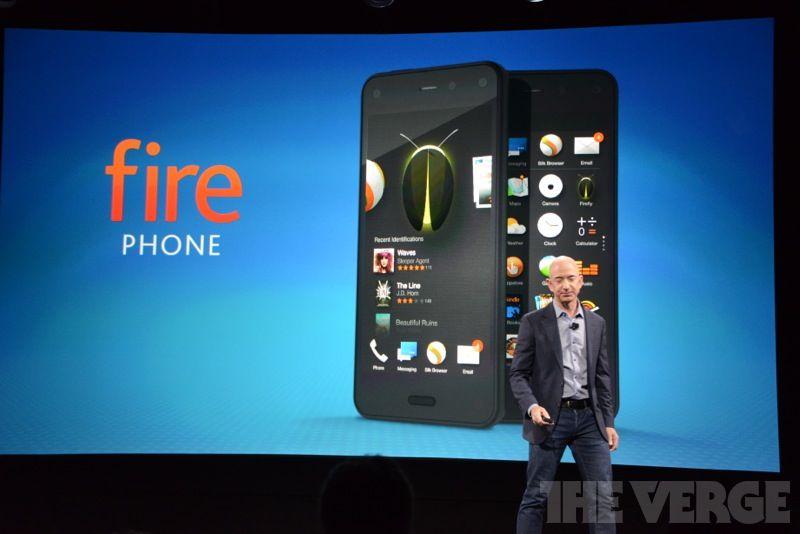 Все, что нужно знать о Fire Phone - первом смартфоне Amazon