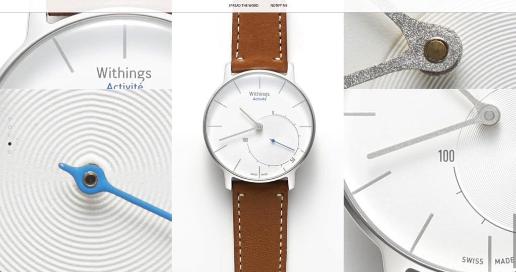 Withings Activite — самые стильные «умные часы» от швейцарцев