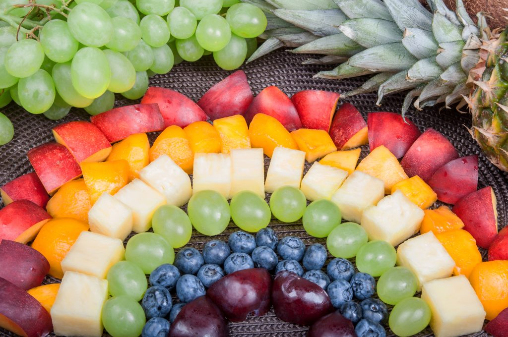 диета цветов семь радуги