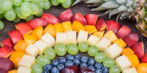 Радужная диета, или Совмещаем приятное с полезным