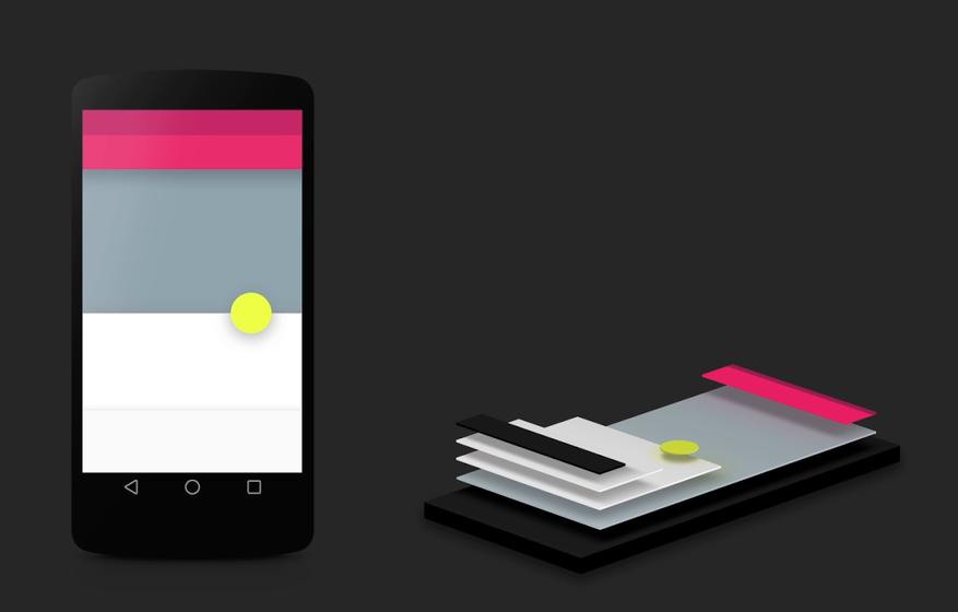 Material Design - новое направление дизайна Google, которое совершит революцию