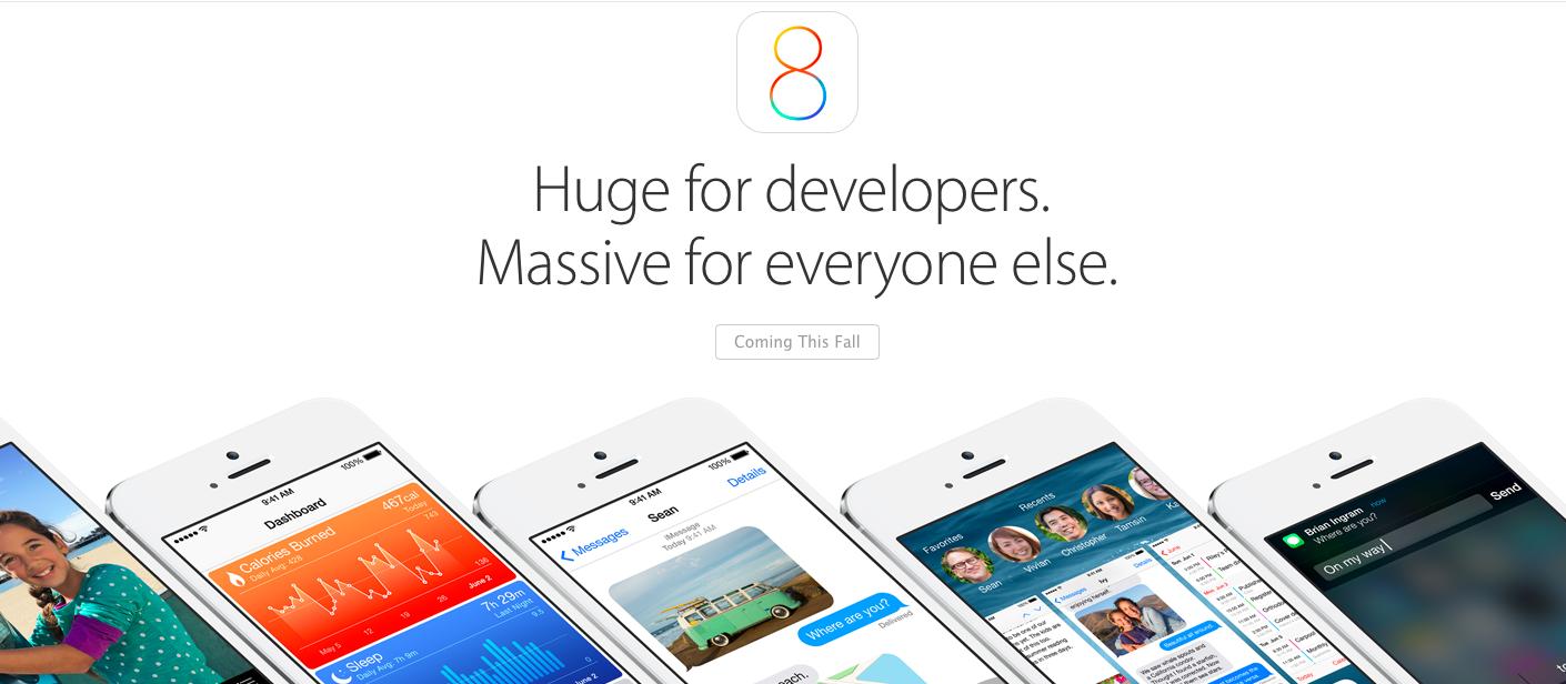 Все, что нужно знать о новых функциях iOS 8