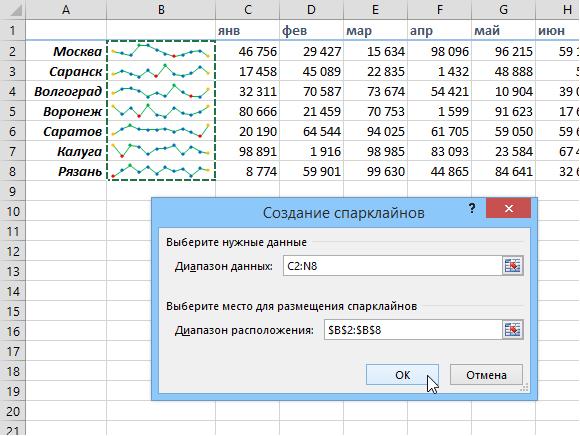 Как закрепить шапку таблицы в Excel 61
