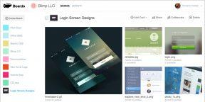 Blimp Board — сервис для создания коллекций с полезной информацией