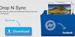 Drop N Sync — аналог Dropbox для Facebook