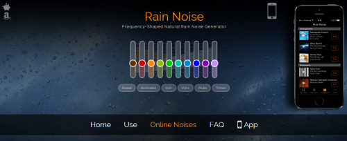 Ultimate Rain Sound Generator Hearing Calibrated