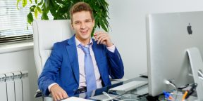 Рабочие места: Родион Репин, совладелец и управляющий партнёр компании MillionAgents