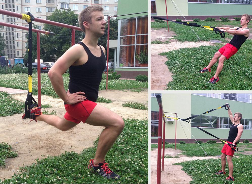 Trx тренировка упражнения