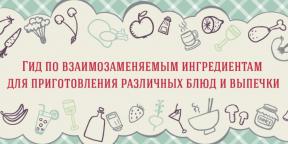 ИНФОГРАФИКА: Чем заменить недостающий ингредиент при приготовлении блюда