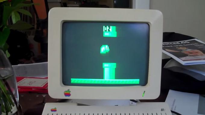 Flappy Bird портировали на Apple II