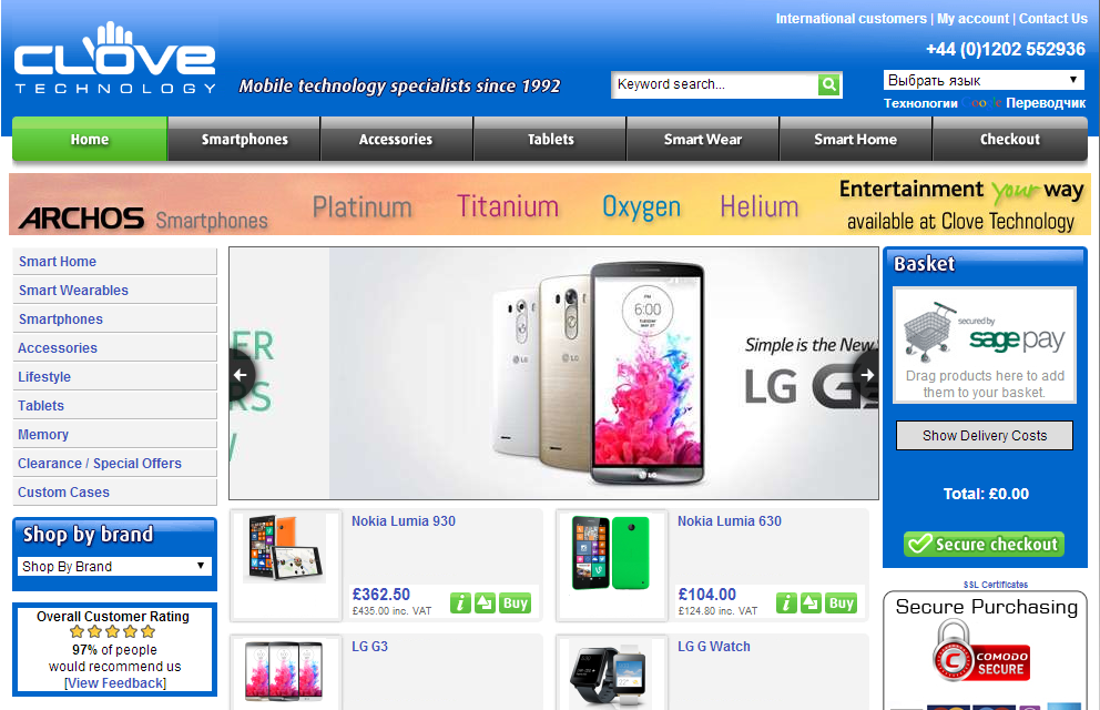 Английский сайт, продающий смартфоны, планшеты и аксессуары. Доставка  осуществляется через сервис Euro Post, и магазин даёт гарантию доставки в  целости и ... 943e5fbcd25