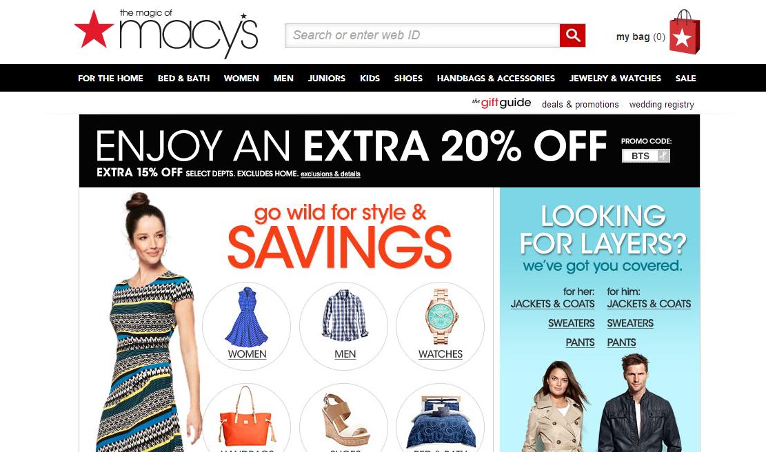 3. macys.com · интернет-магазины с международной доставкой 89cfcff90af
