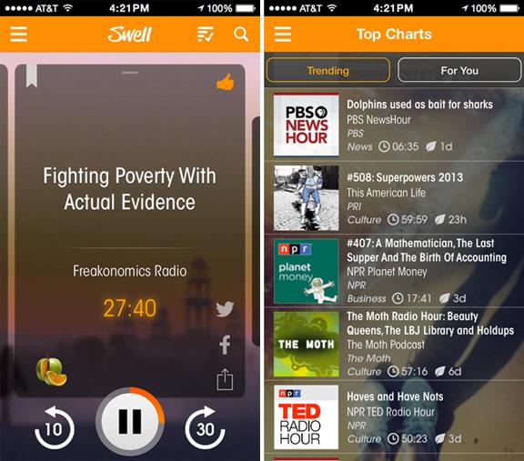 Apple купила приложение Swell для улучшения iTunes Radio