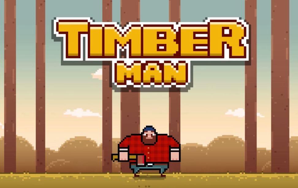 Timberman — как Flappy Bird, только про дровосеков
