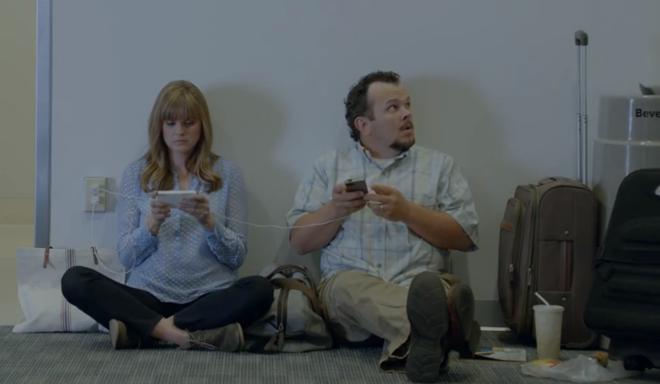 Samsung высмеяла время автономной работы iPhone 5s в своей новой рекламе