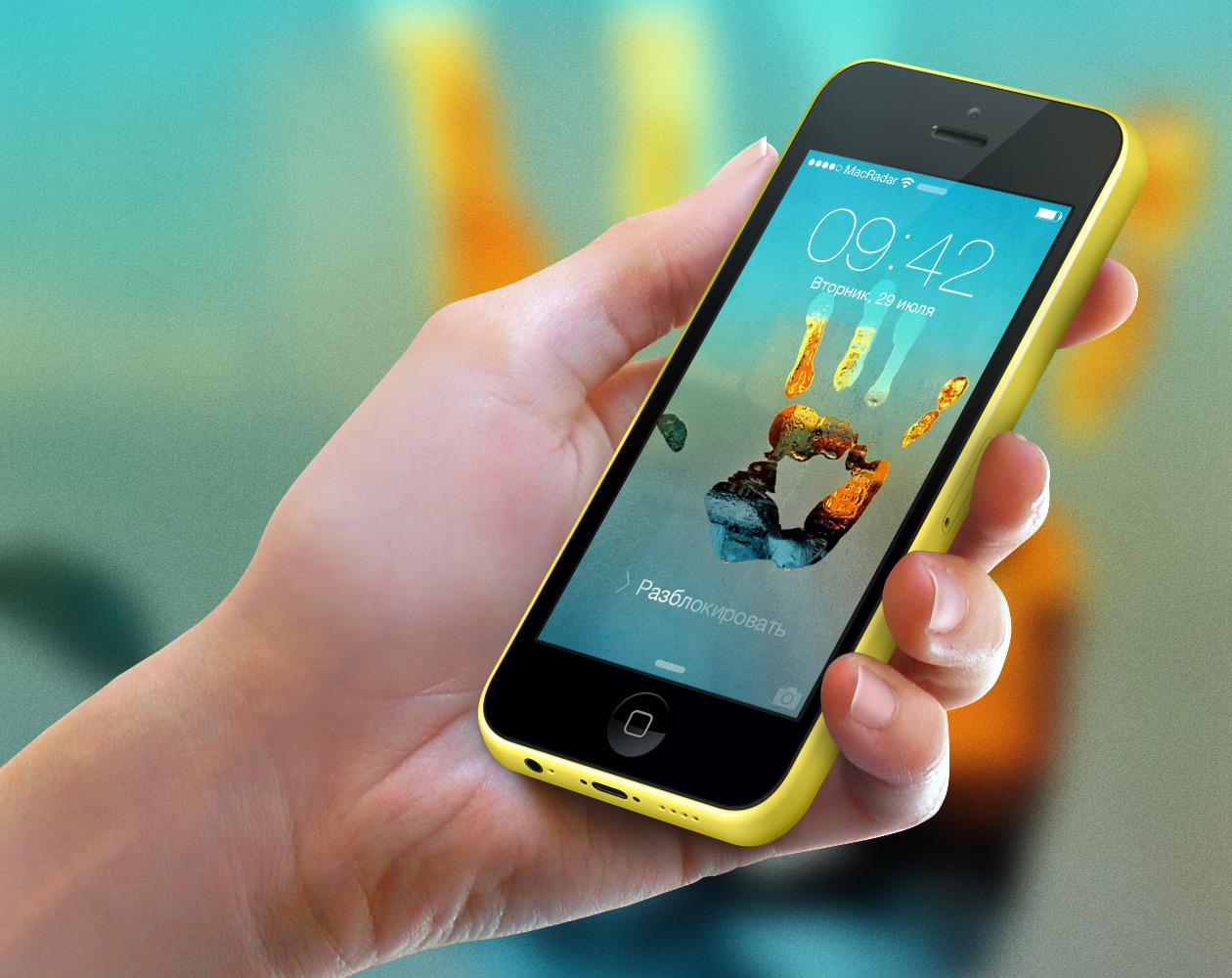 Обои для iPhone: На стекле и за стеклом