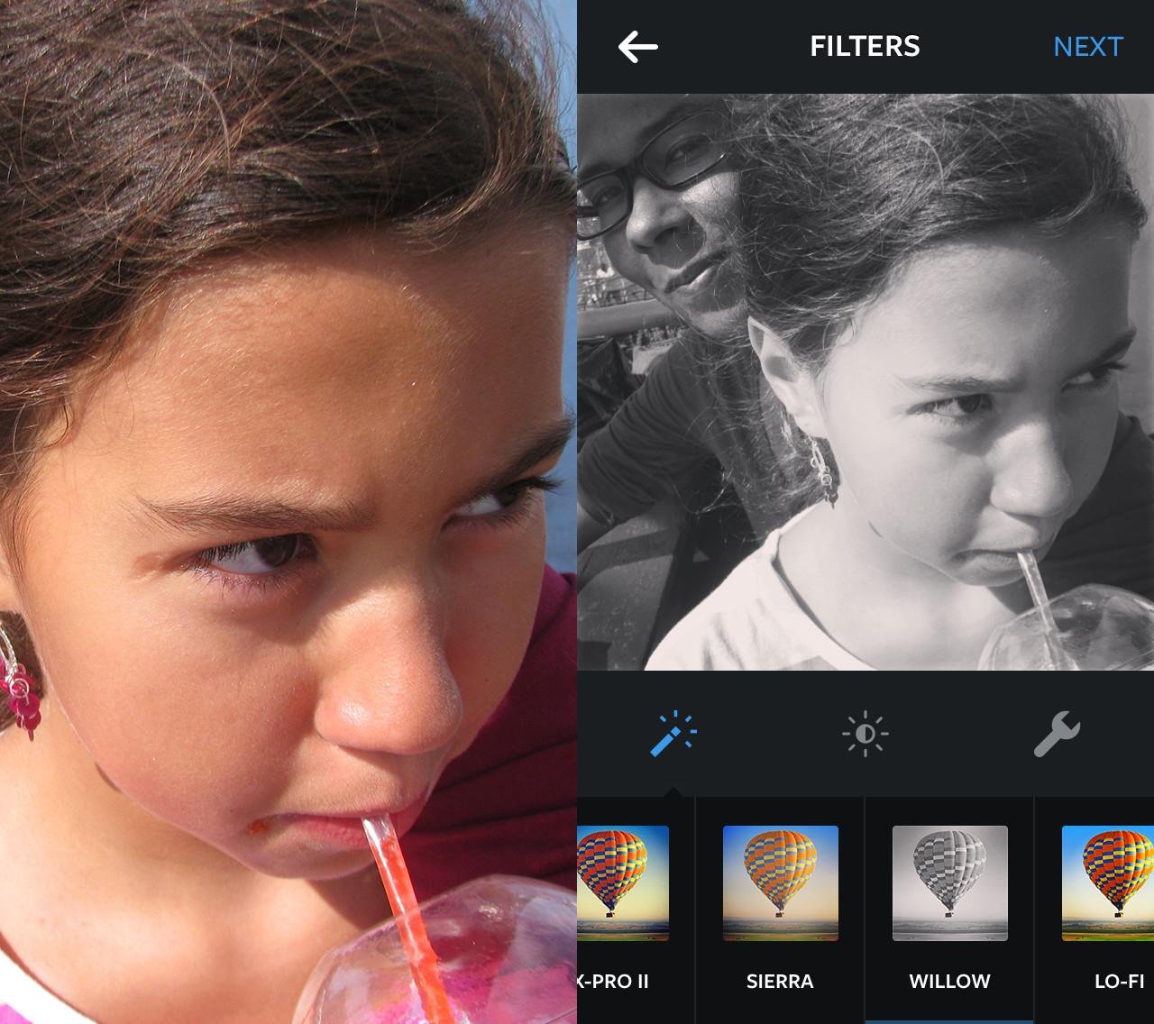 видели как называется фильтр для фотографий что при изображении