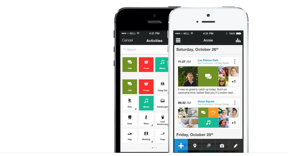 Step — полный журнал вашей жизни на iPhone