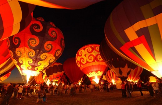Albuquerque International Balloon Festival - USA