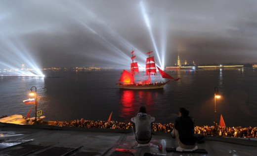 White Nights Festival - Saint Petersburg, Russia