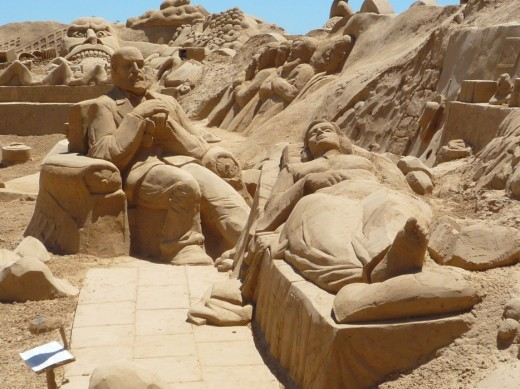 International Sand Sculpture Festival - Portugal