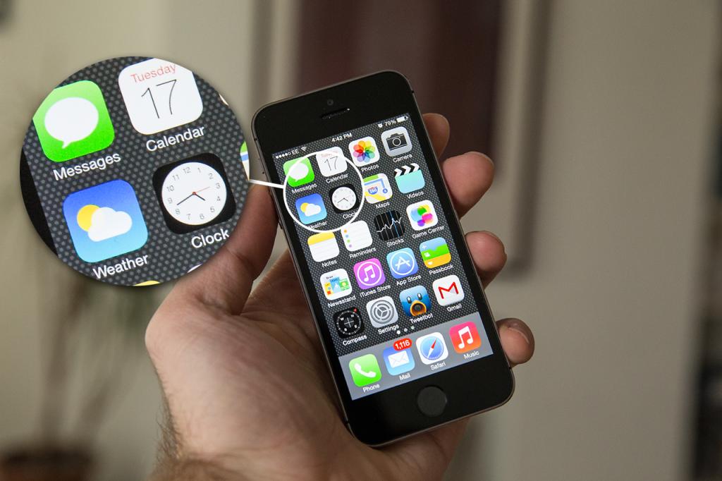 Apple спрячет физические кнопки под гибким экраном