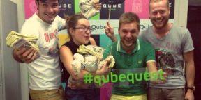 Новый проектQube: время приключений в Москве
