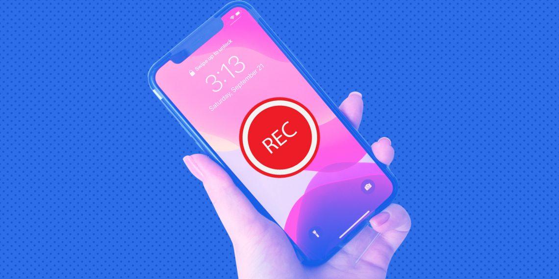Как записать видео с экрана iPhone или iPad без джейлбрейка