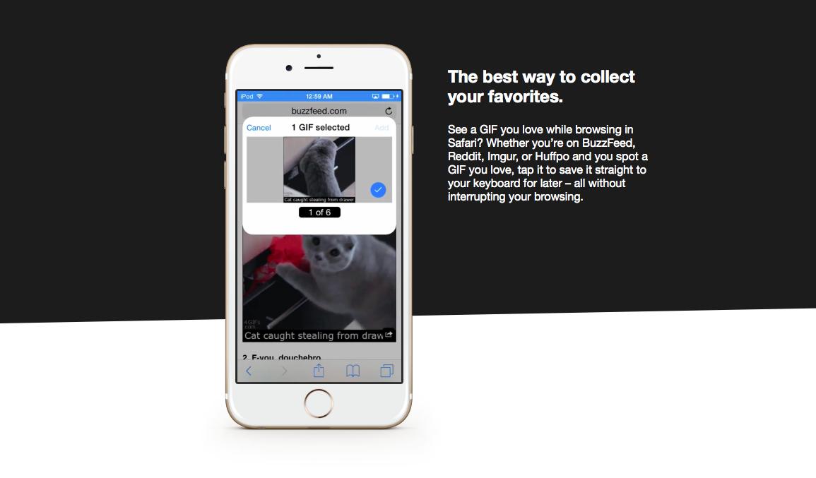 GIF Keyboard для iOS — клавиатура, которую мы так долго ждали