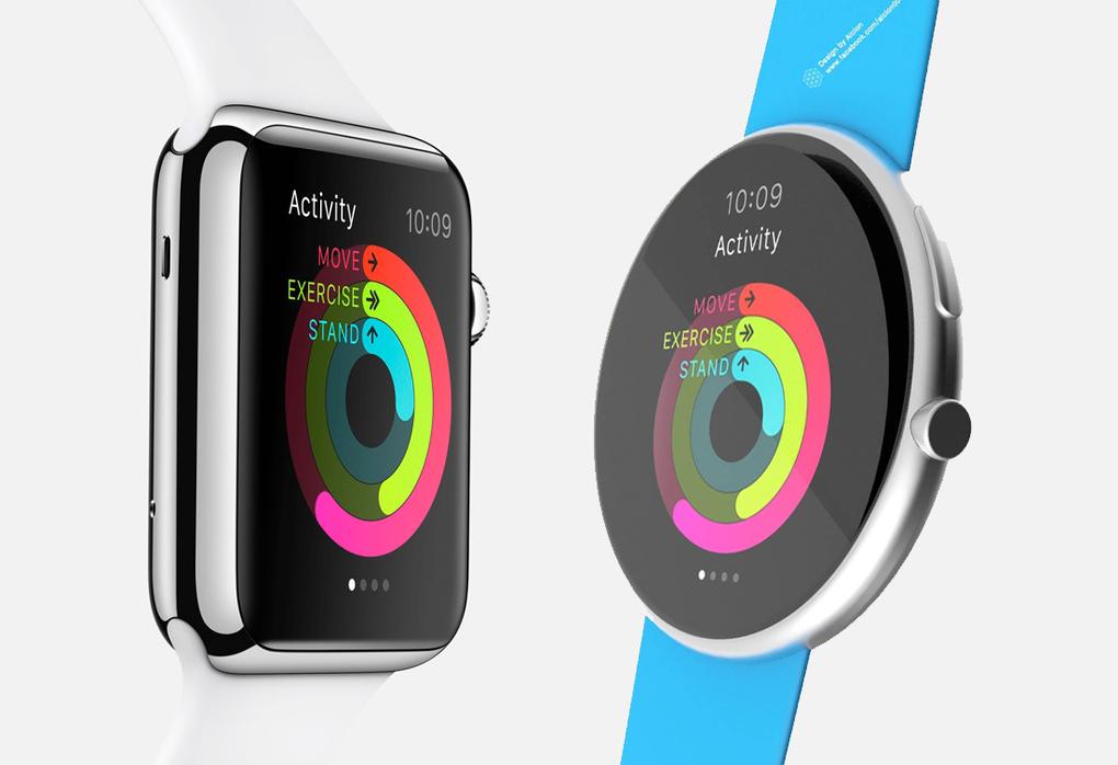 Как могли бы выглядеть круглые Apple Watch
