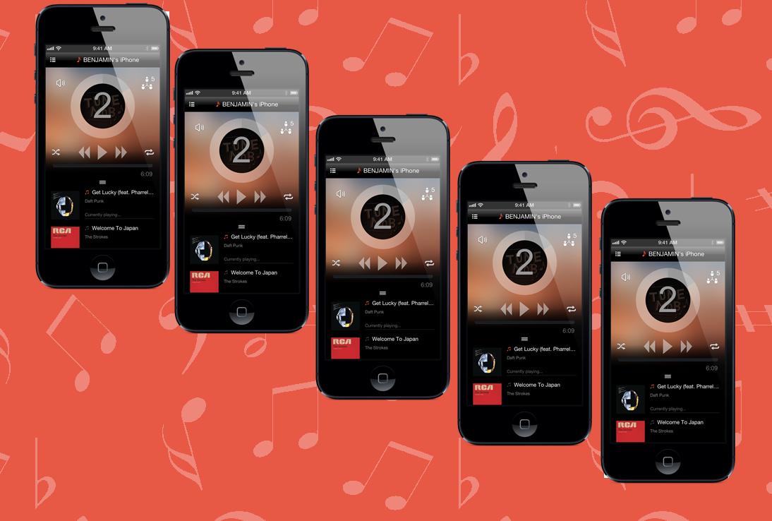 TuneMob: слушаем одну и ту же музыку на разных iOS-устройствах одновременно