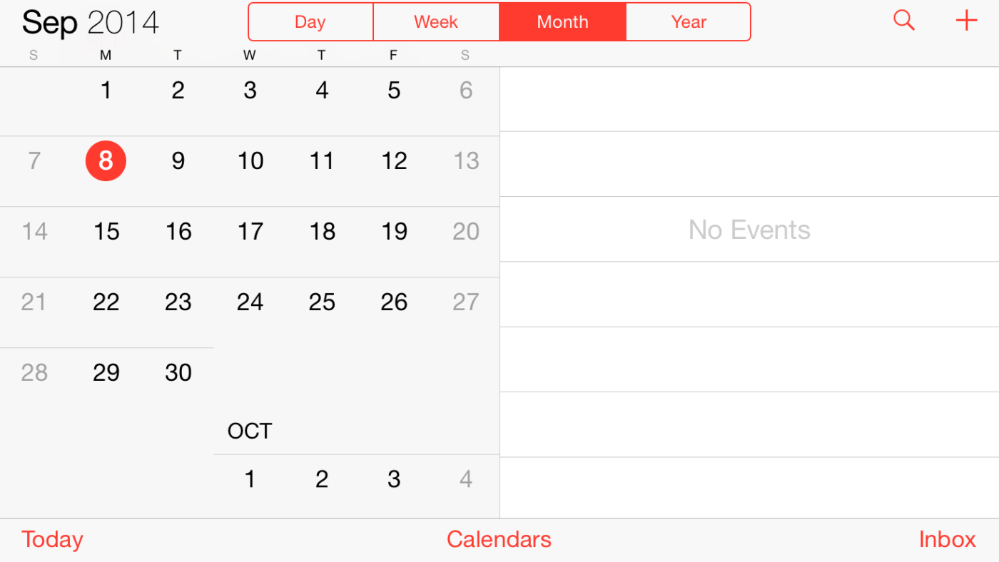 5,5-дюймовый iPhone 6 получит ландшафтный режим работы, как на iPad