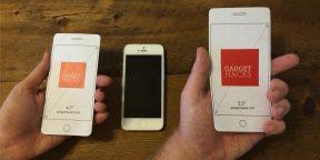 iPhone 6 или iPhone 6 Plus — что лучше лежит в руке