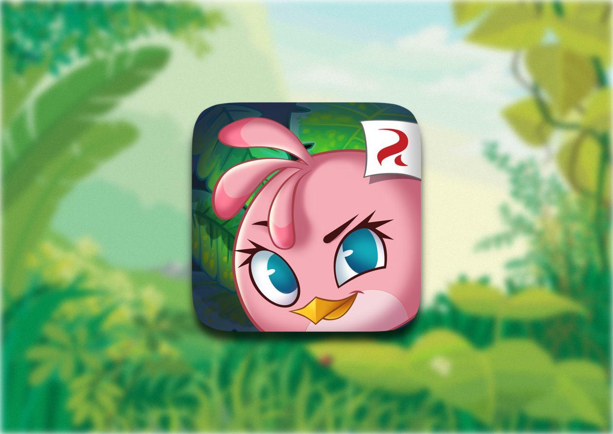 Angry Birds Stella - девчачья история разъяренных птичек