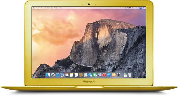 MacBook Air Retina будет доступен в 3 цветах, как iPhone