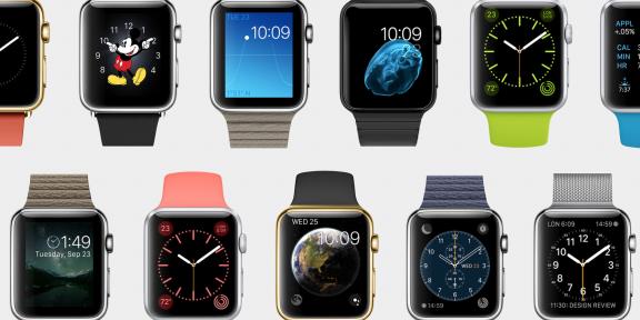 Apple анонсировала часы Watch