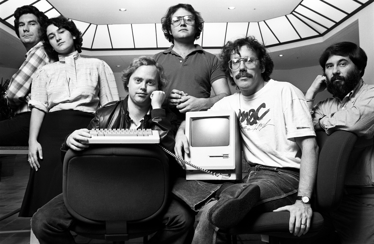 «Чёрная среда» или как я попал в команду Macintosh