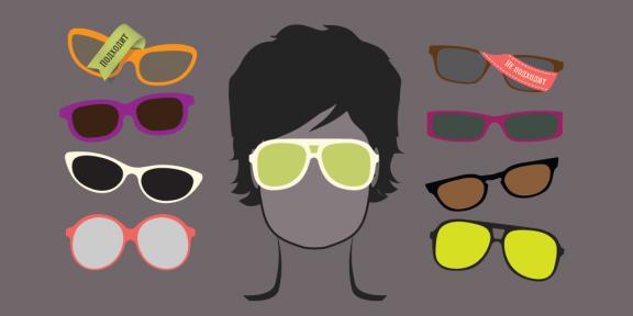 Как подобрать солнцезащитные очки по форме лица