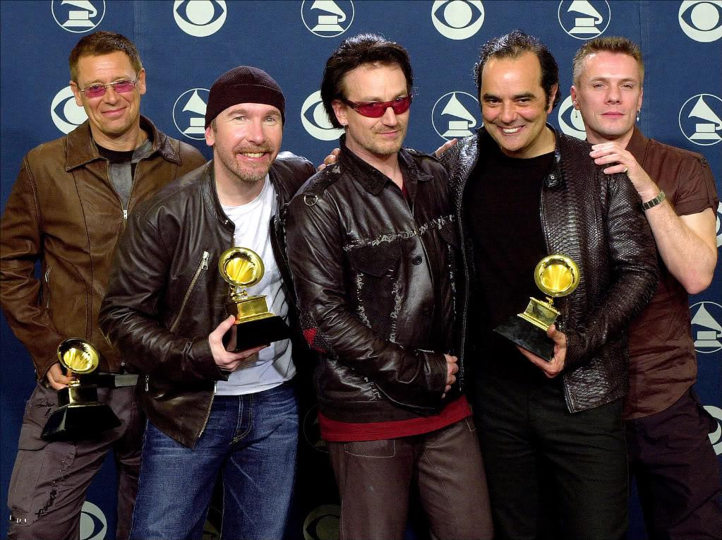 U2 вылетели из списка номинантов «Грэмми» за бесплатный альбом в iTunes Store